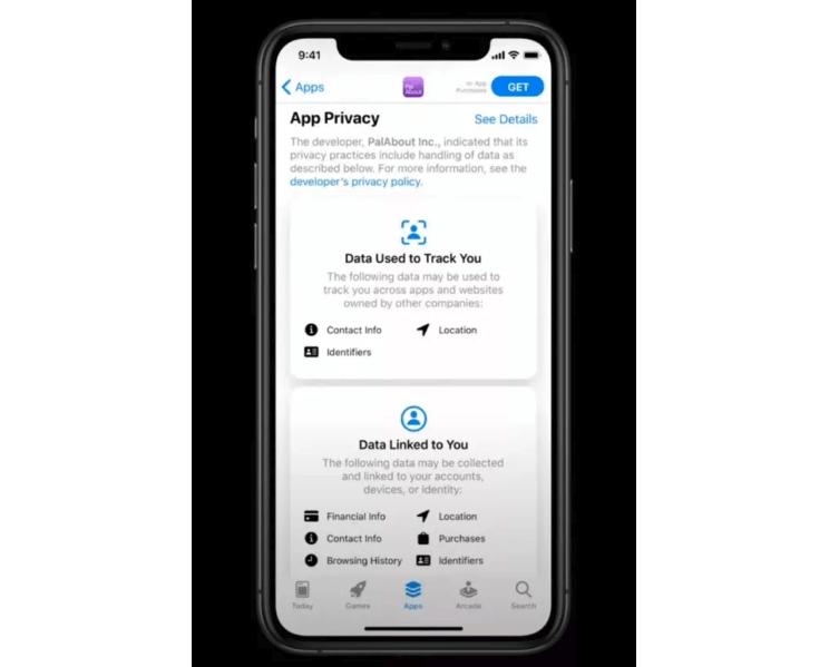 Apple обязала разработчиков приложений раскрывать информацию о собираемых данных