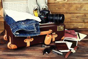 Что нужно положить в чемодан, если вы собрались в путешествие?