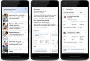 Google отключил расширенные результаты, связанные с профобучением