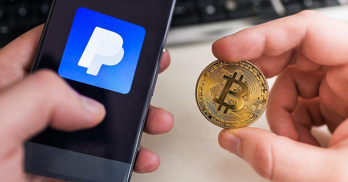 PayPal разрешила платить криптовалютой за товары и услуги