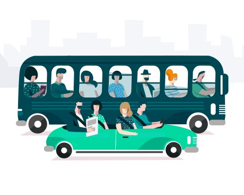 BlaBlaCar будет развивать автобусное направление в России