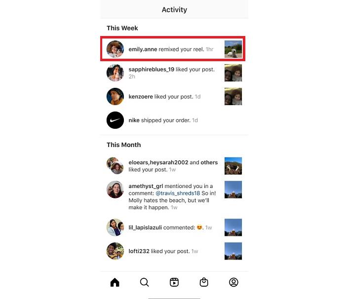 В Instagram появился аналогов дуэтов в TikTok