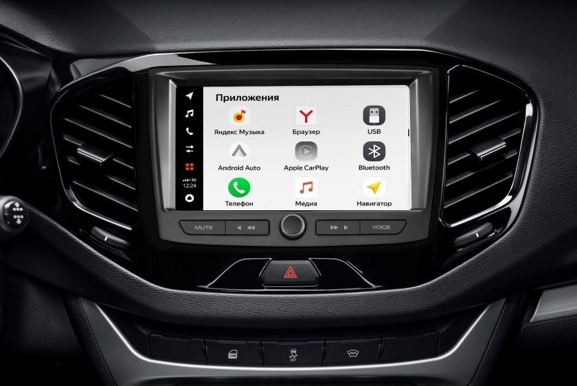 Сервисы Яндекса появятся в некоторых моделях автомобилей Lada