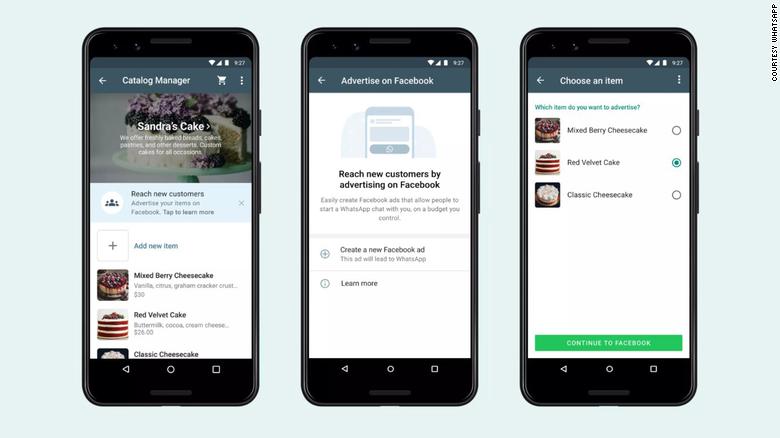 В приложении WhatsApp Business появится возможность запускать рекламу