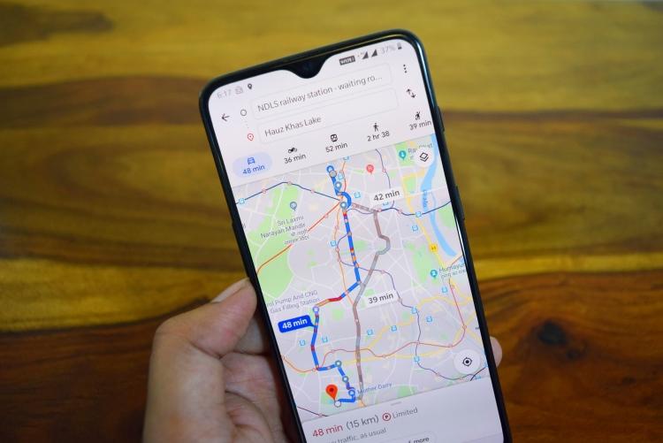 Новые функции в Google Картах: улучшенный режим Live View и подробные карты улиц