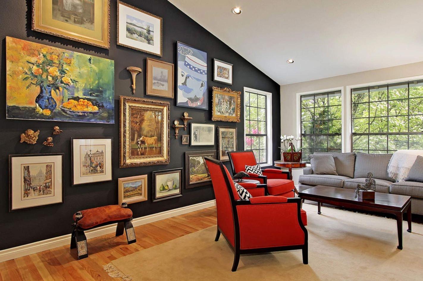 Привлекательность и специфика использования картины в качестве достойного декора квартир
