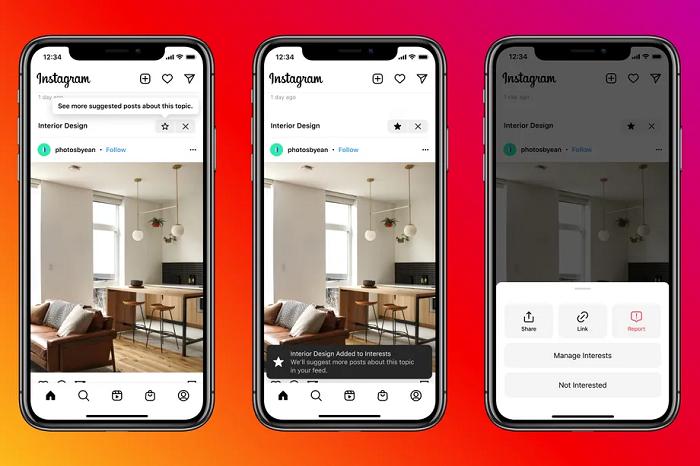 Instagram начал тестировать рекомендуемые посты в основной ленте пользователей
