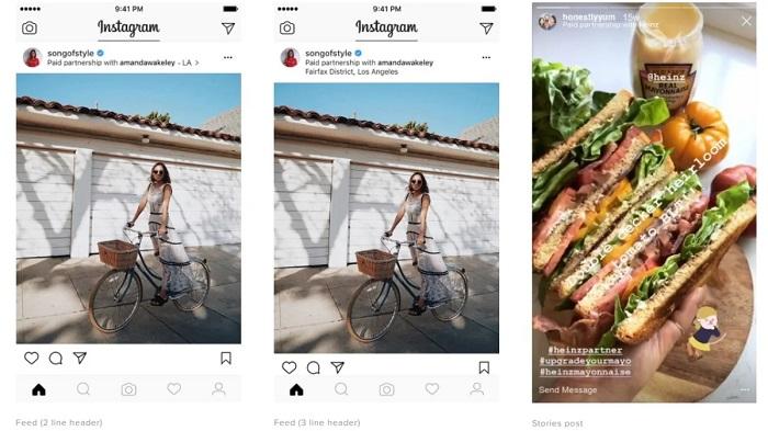 Instagram обновил инструменты для создания брендированного контента