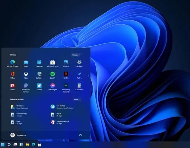 В сети появились первые скриншоты Windows 11