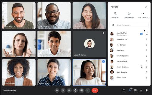 В Google Meet можно будет назначать до 25 соведущих
