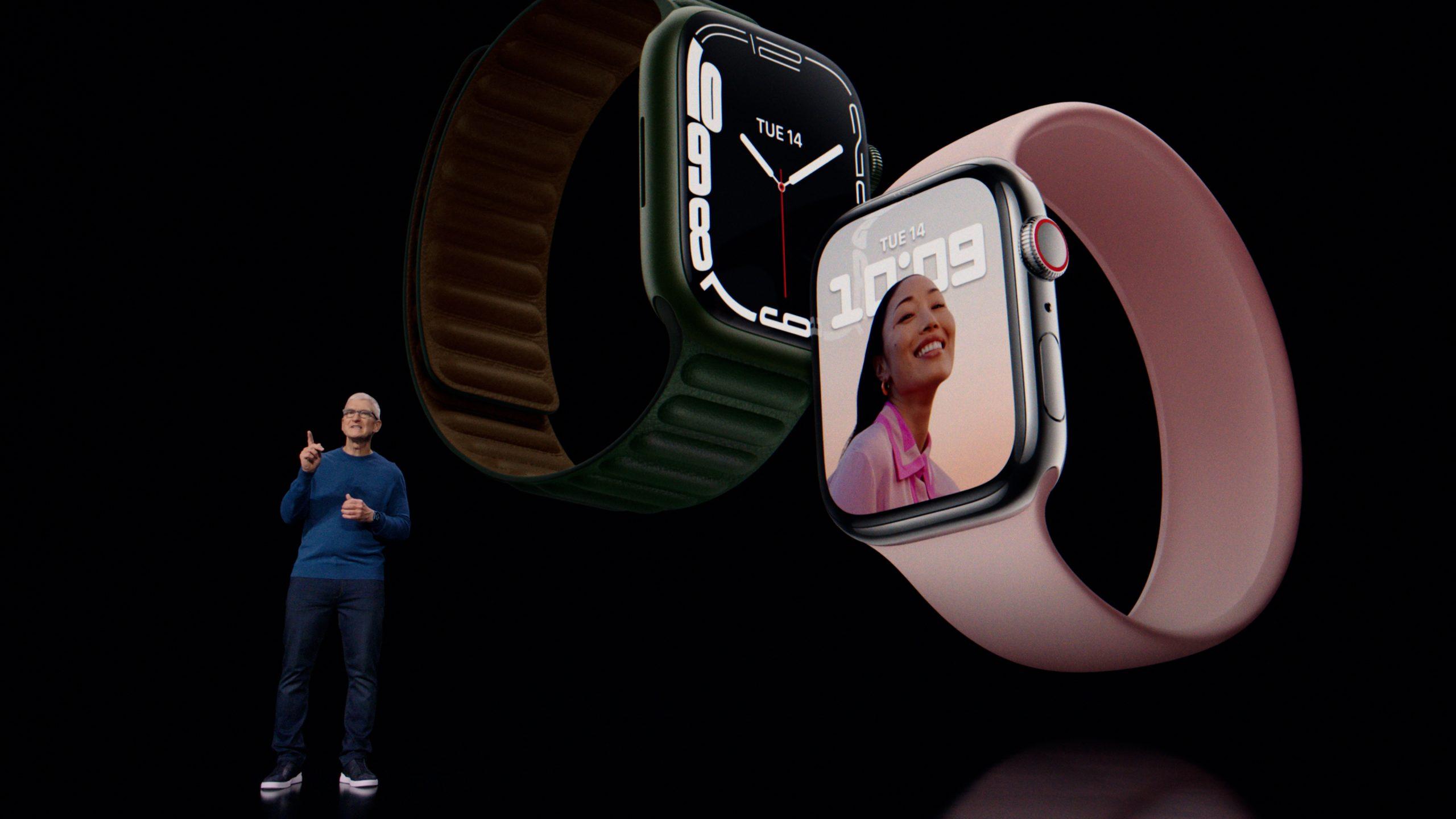 Новинка на рынке Apple Watch 7