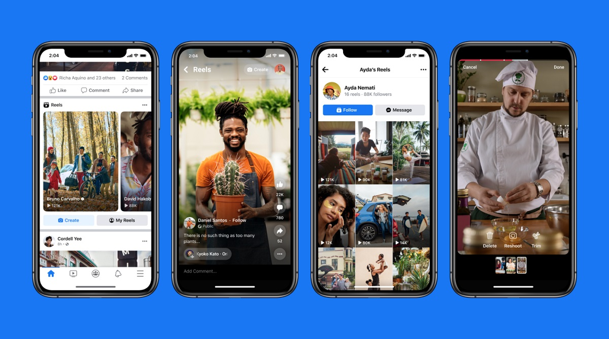 Facebook запускает Reels для всех мобильных пользователей в США